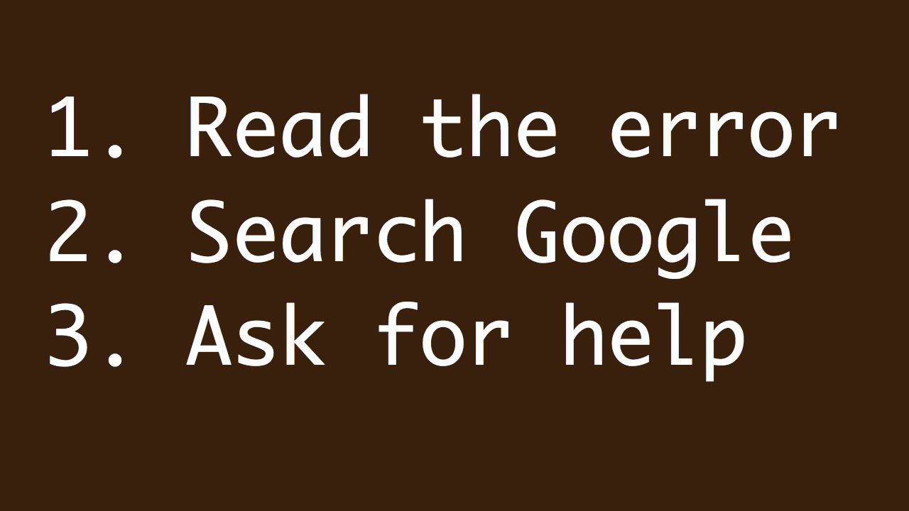 Read-Search-Ask